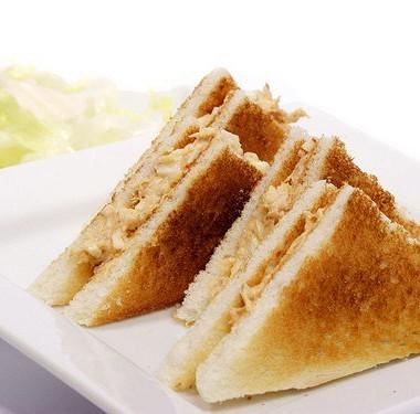 Рецепт Быстрые сэндвичи сконсервированным лососем ивасаби