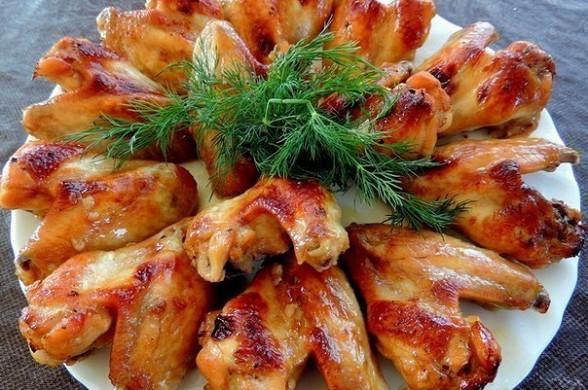 как приготовить крылышки в медовом соусе