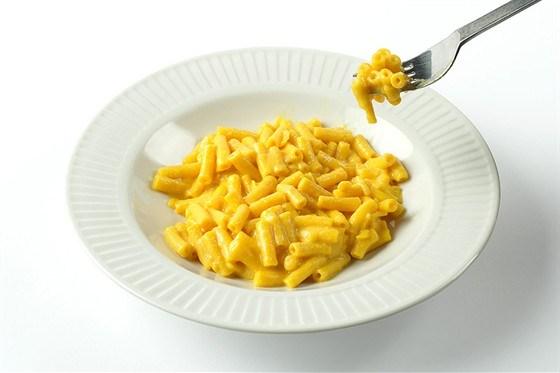 Макароны с сыром и оливковым маслом