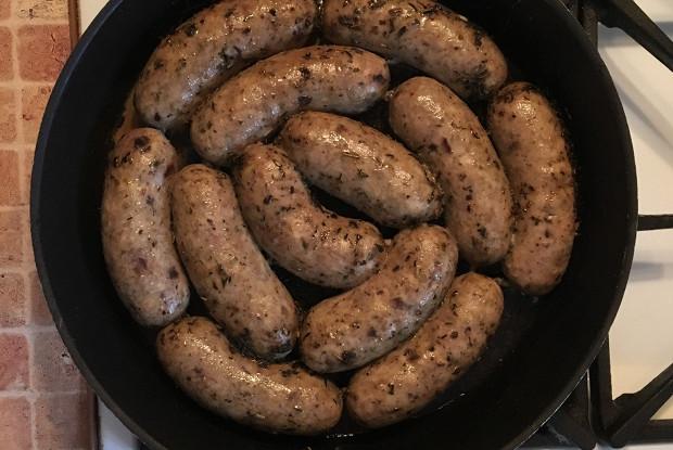 Микс-колбаски с черносливом