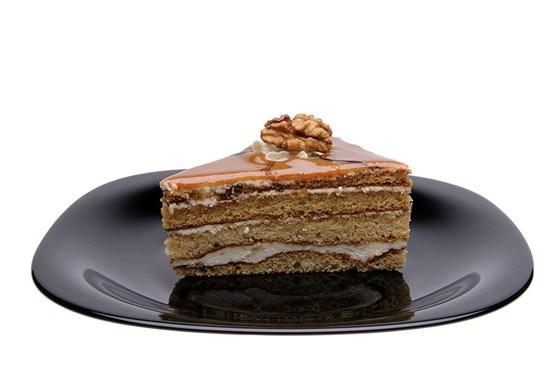 Ореховый торт со сгущенным молоком