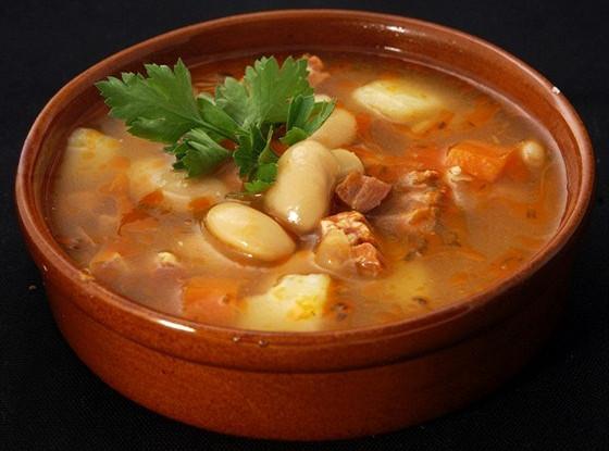 Томатно-фасолевый суп