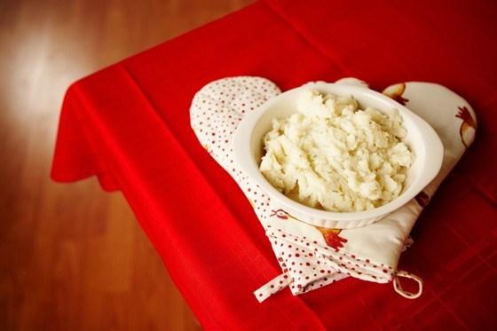 Сладкий картофель со сливками