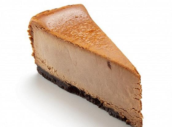 Шоколадно-бисквитный чизкейк