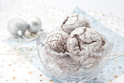 Бисквитное печенье с орехами пекан