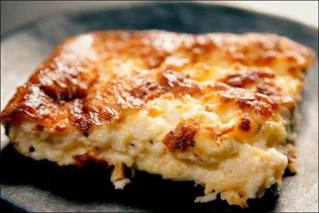 Суфле с тремя видами сыра