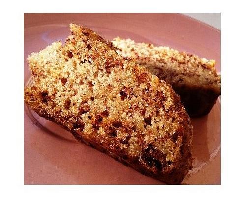 Веганский ореховый кекс