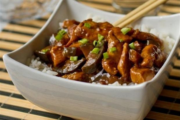баклажаны по-китайски в соусе