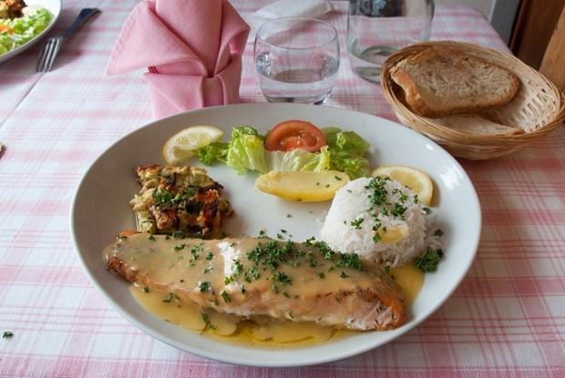 Соус бер-фондю к овощам и рыбе