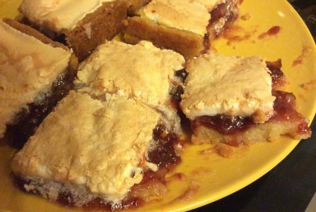 Пирог с безе «Просто и быстро»