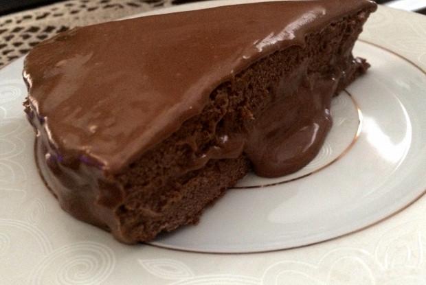 Быстрый торт с какао