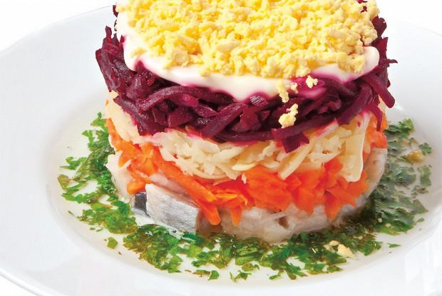 салат под сельдь под шубой