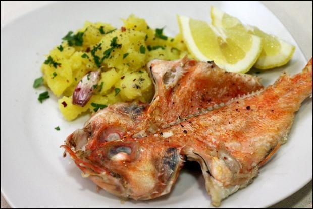 морской окунь как готовить