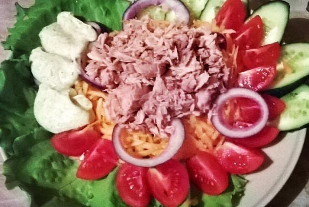 Тюна салат с Ко-Пангана