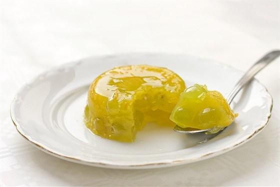 Желе лимонное на сахарине