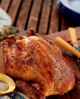 Быстрая курица, маринованная в яблочном уксусе