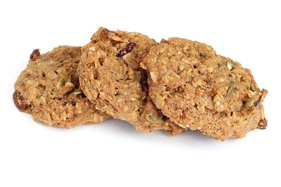 Печенье с изюмом и орехами