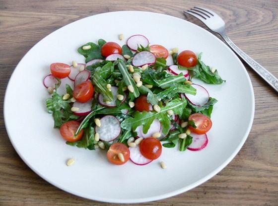 Салат руккола редиска огурец — pic 5