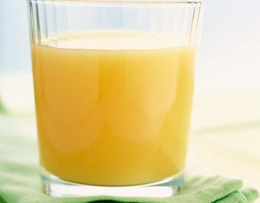 Сок из маракуйи, яблок и апельсинов