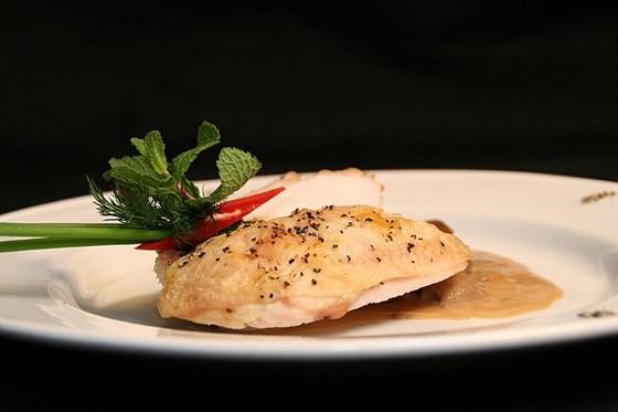 Курица с итальянским соусом