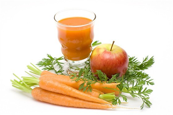 Сок из грейпфрута и моркови