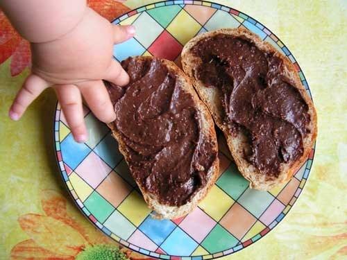 Шоколадная паста с грецкими орехами и ванилью