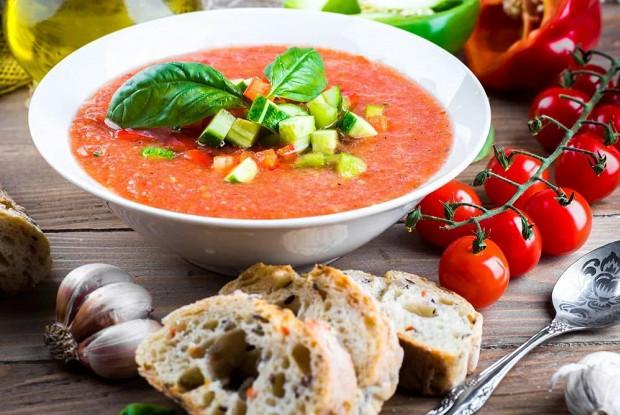 «Гаспачо из свежих овощей»