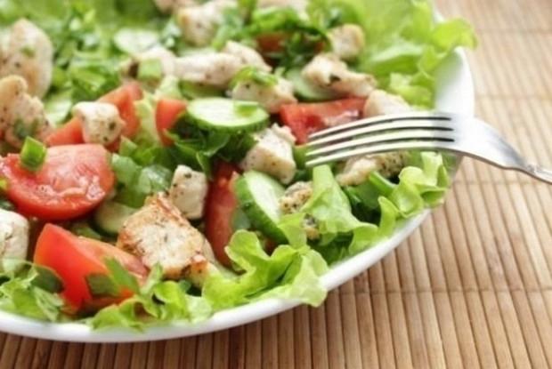 Рецепт салат с соусом терияки рецепт 4
