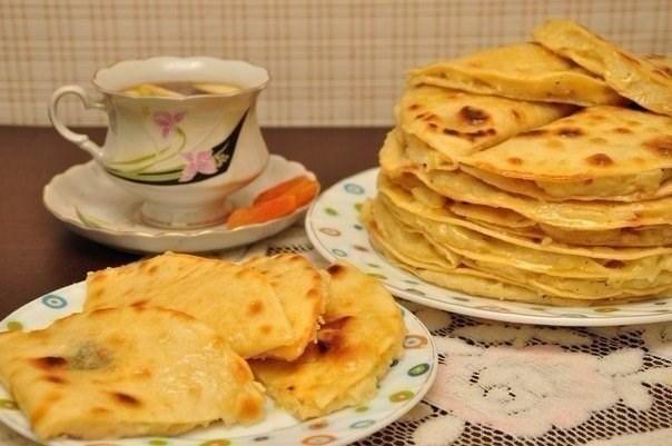 Кыстыбыи - татарские лепешки с картошкой