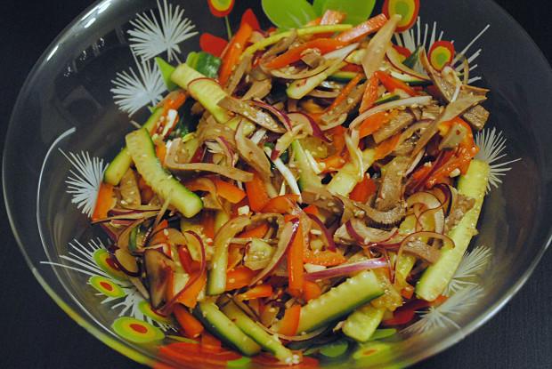 китайские салаты в домашних условиях фото рецепт