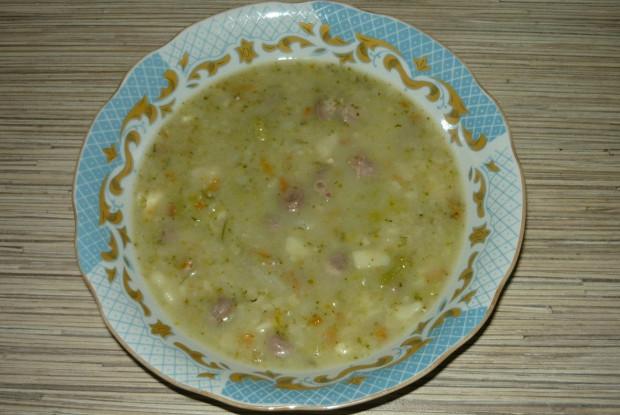 Суп из цветной и брюссельской капусты с сыром