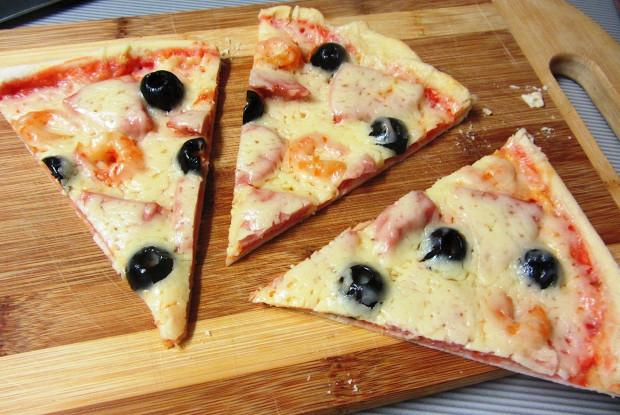 Как сделать простое тесто для пиццы фото 459
