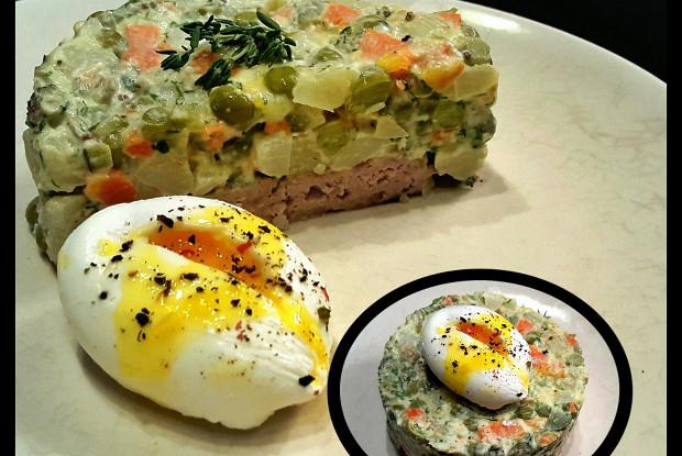 рецепт морковью: афиша-еда с по-советски Оливье салаты салаты