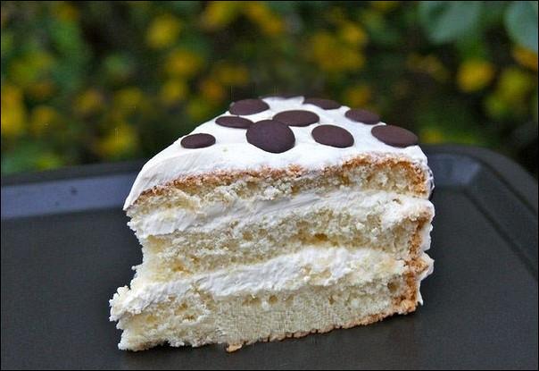 Бисквитный торт «Елизавета»