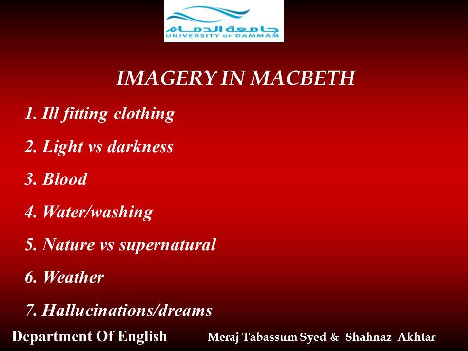 Macbeth essay topic