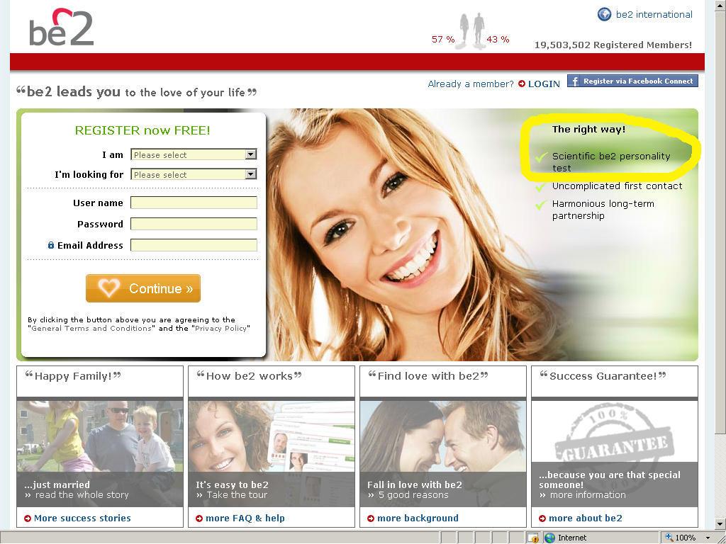 Online dating websites scams