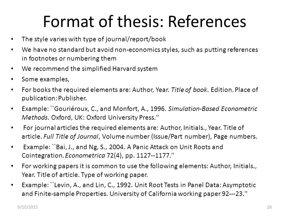 Write my reference thesis