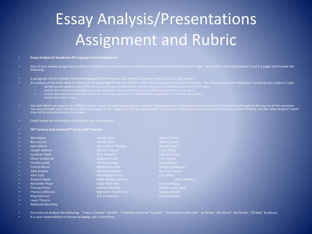 A modest proposal writing assignment