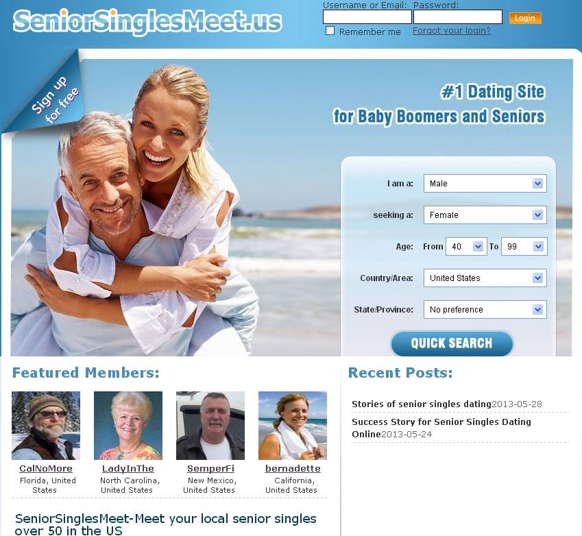 Senior singles free online dating