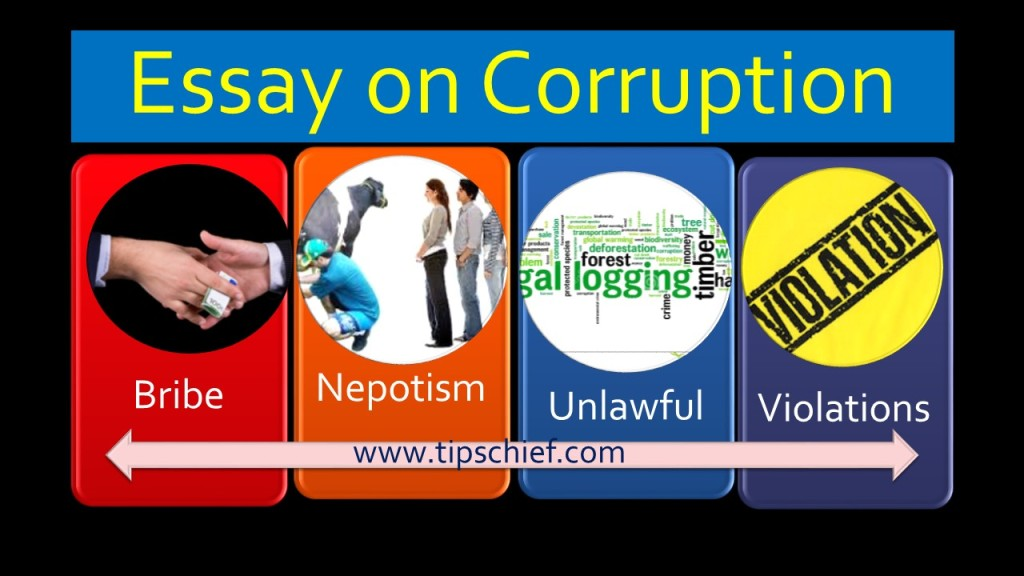 Short Essay On Corruption In Hindi - byesmsde