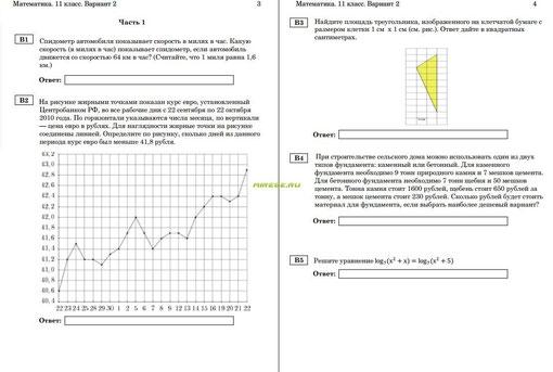Пробный по математике ответы на 7 вариант