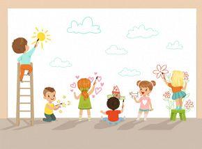 «Разноцветный зоопарк». Курсы рисования для детей 4-6 лет